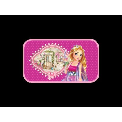 069242 Пенал 2 отделения Милая принцесса