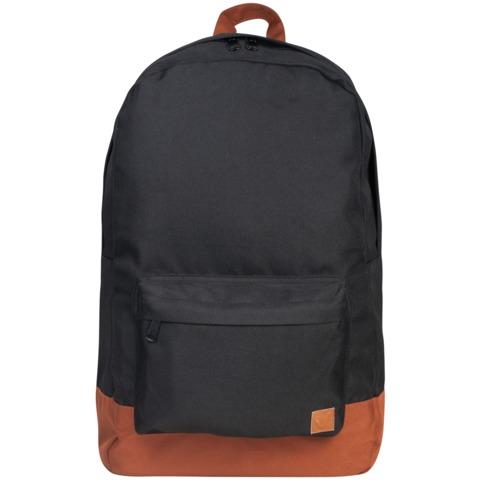 056976 Рюкзак BRAUBERG , сити-формат, черный, с коричневым дном