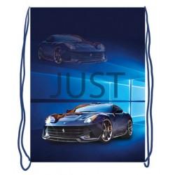 069200 Мешок для обуви 1 отделение, 330*420 Just car синий