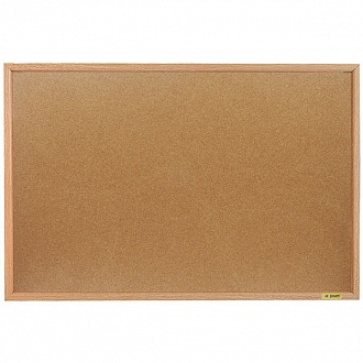 003977 Доска пробковая 60*90 деревянная рамка.