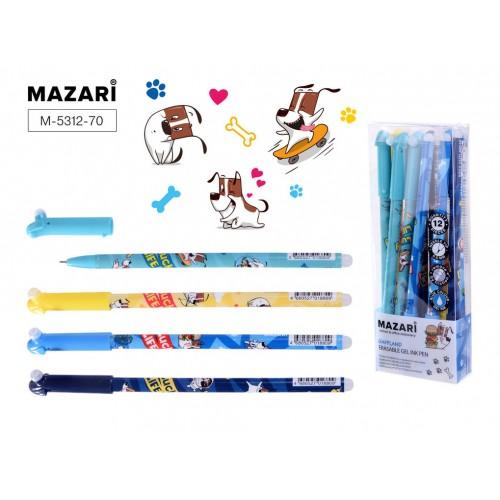 072960 Ручка - шпион MAZARI GAFFLAND гелевая, 0,5мм