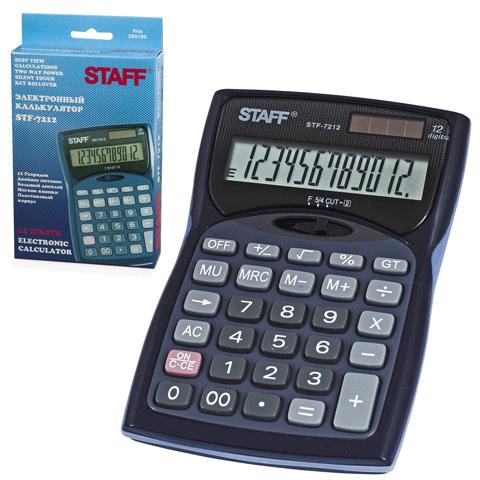 005724 Калькулятор Staff.12разр.STF-7212