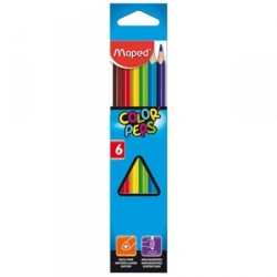 "066735 Фломастеры   6цв ""Color peps ocean"", суперсмываемые"