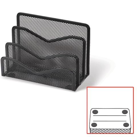 022803 Подставка д/бумаг 3-х секц. метал.