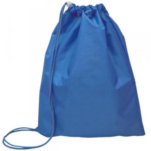 087060 Мешок для обуви 1 отд, однотонный 330*420 Синий, тонкий