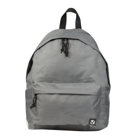 058261 Рюкзак BRAUBERG универсальный, сити-формат,серый,