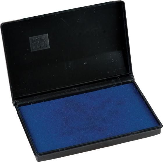 052110 Штемпельная подушка настольная 50*90мм, синяя