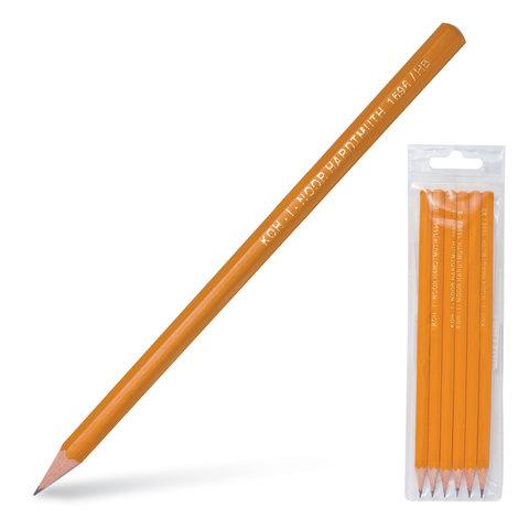 009845 Набор чернографитных карандашей Koh-i-Noor, 6шт.