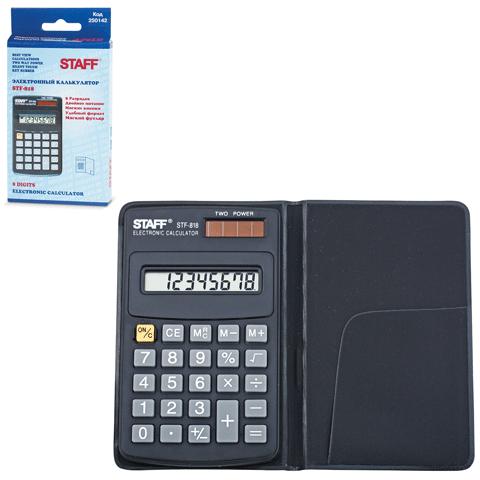 005730 Калькулятор STAFF карманный STF-818