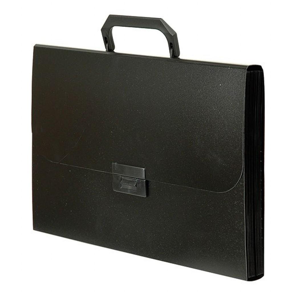 013940 Портфель А4 пластик в ассорт.