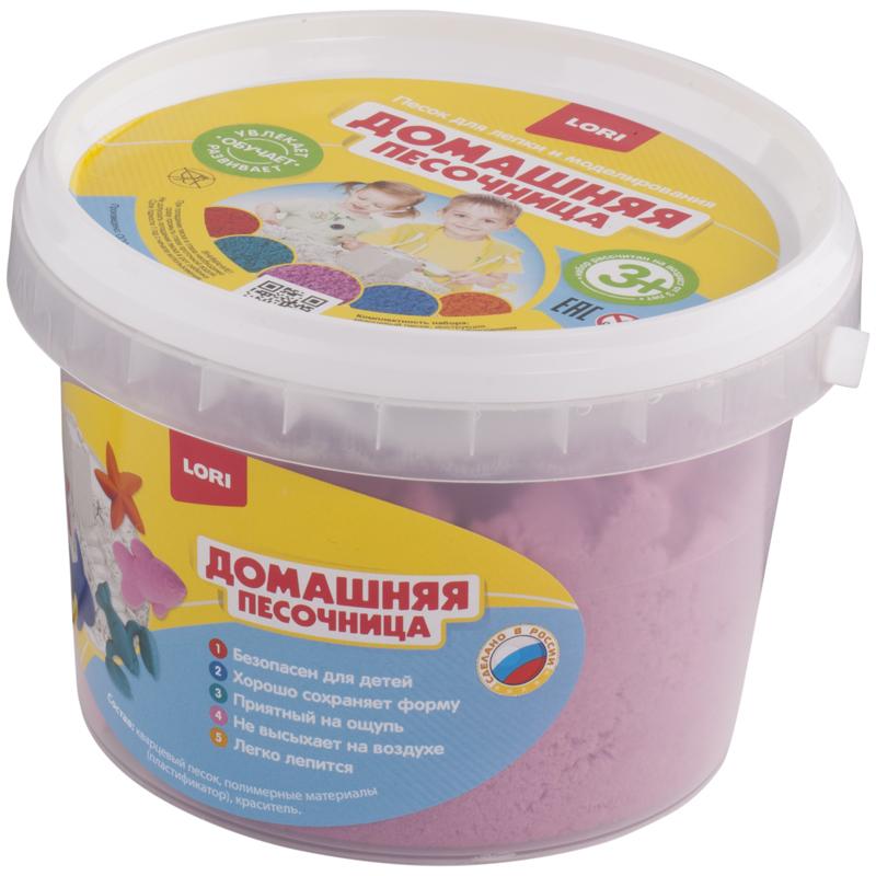 """043722 Набор д/лепки """"Розовый песок"""" 0,7 кг"""