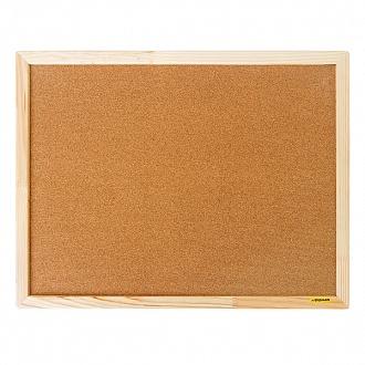 003959 Доска пробковая 45*60 см, деревянная рама