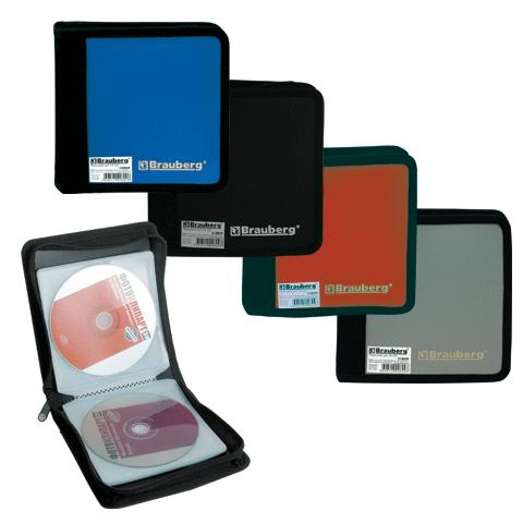 013880 Портмоне для CD/DVD на 24 диск.