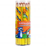 "058425 Карандаш ""Енот и радуга""с многоцветным грифелем"