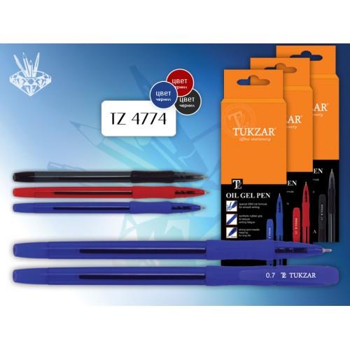 036085 Ручка шариковая на масленой основе BELINGA синяя