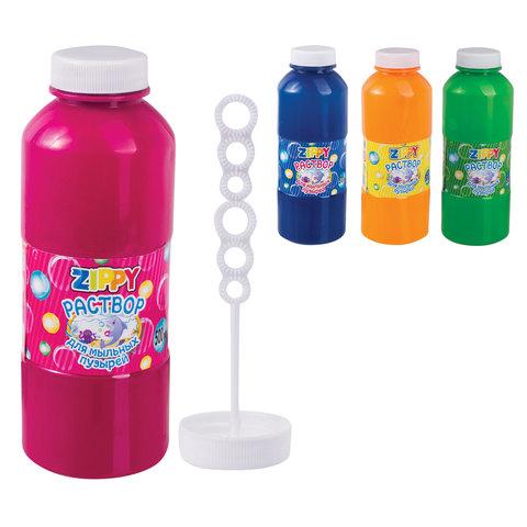 070157 Мыльный раствор для пузырей, 500 мл, ZIPPY