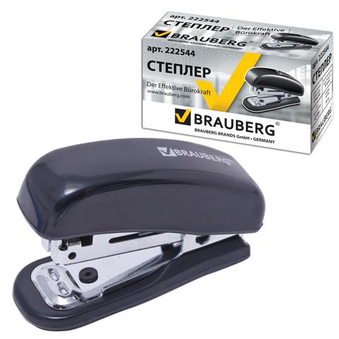 017053 Степлер № 10 Brauberg Nero