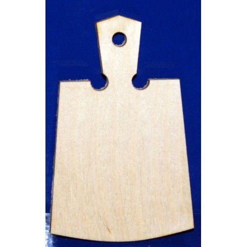 077071 Заготовка деревянная Доска № 3 12*8см
