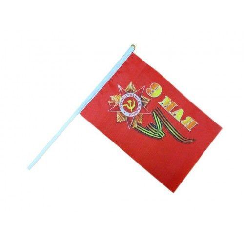 083825 Флаг 16*24см, с палочкой