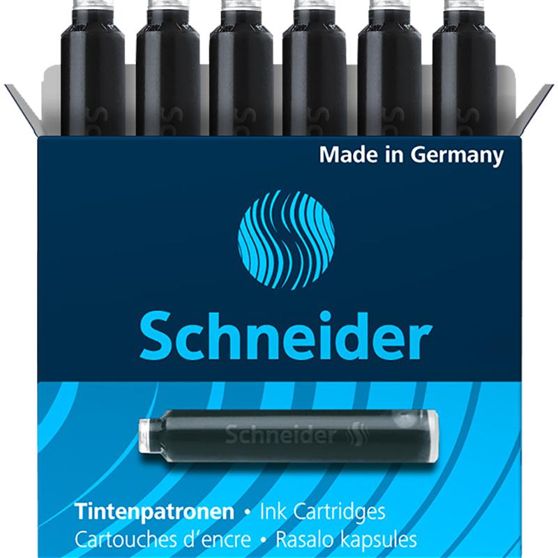 071734 Картриджи чернильные Schneider черные,1 шт.
