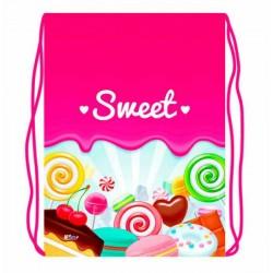 068915 Мешок для обуви 1 отделение, 330*420 Sweet