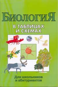 В таблицах и схемах для школьников и абитуриентов. Биология. (ФГОС)/ Онищенко.