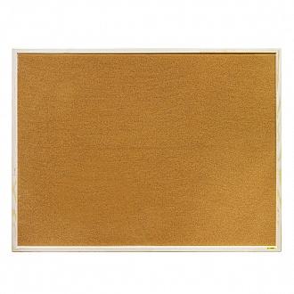 026559 Доска пробковая 90x120 см, ал. рама