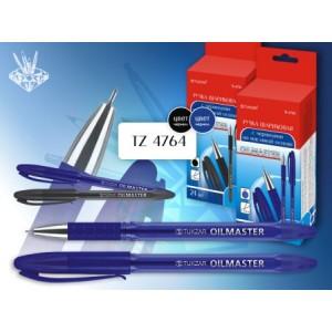 033395 Ручка шариковая Tukzar -VISTA, на масляной основе, черная