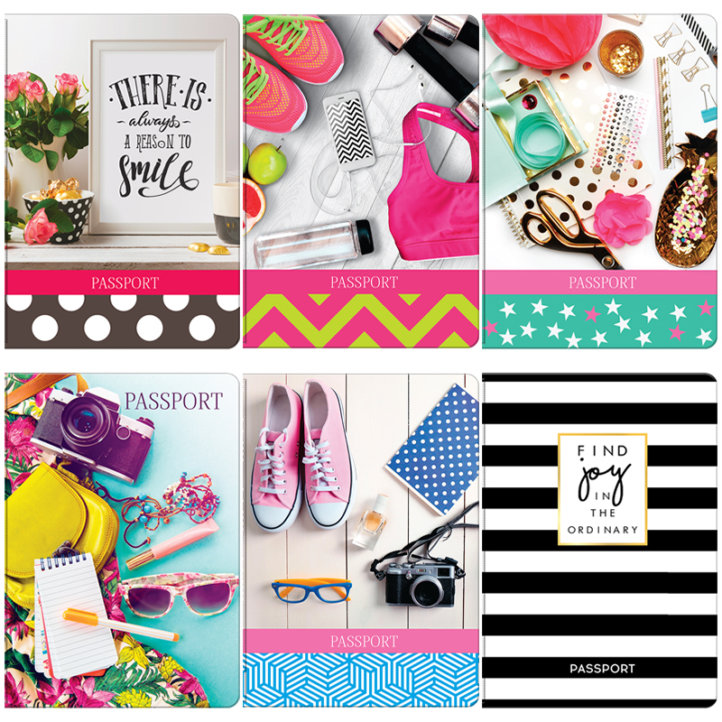 """052196 Обложка для паспорта ОfficeSpace  ПВХ, """"Style"""""""
