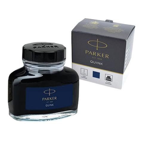 """072834 Чернила PARKER (Германия) """"Bottle Quink"""", 57 мл, 1950376, синие"""
