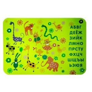 """034093 Настольное покрытие д/лепки А4 """"Забавные зверюшки"""""""