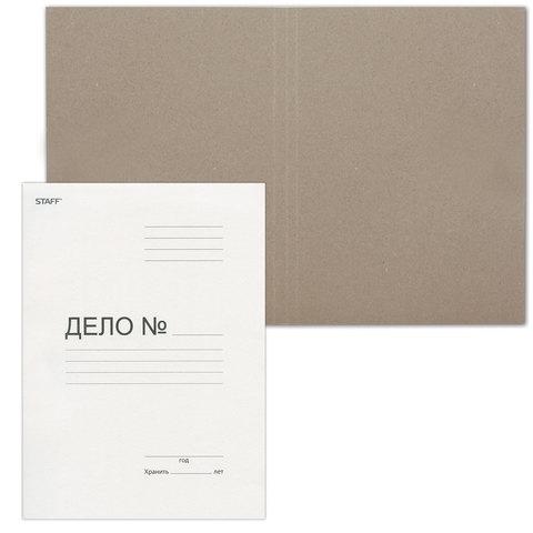 087132  Папка  обложка Дело  STAFF, плотность 220 г/м2