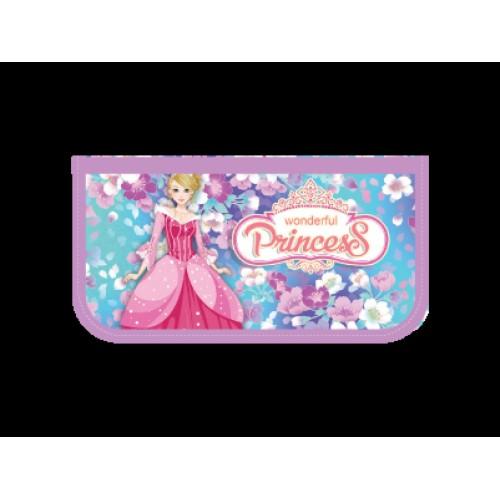 062571 Пенал 3 отд. (190*105) Прекрасная принцесса, лам.