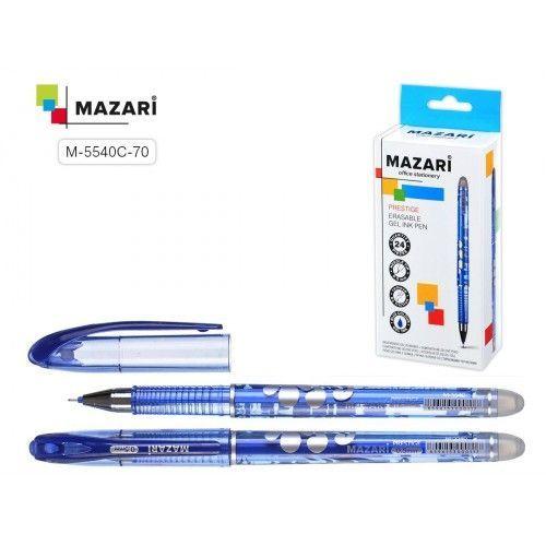 "080118 Ручка-шпион гелевая, синяя 0,5 мм. ""Mazari"""