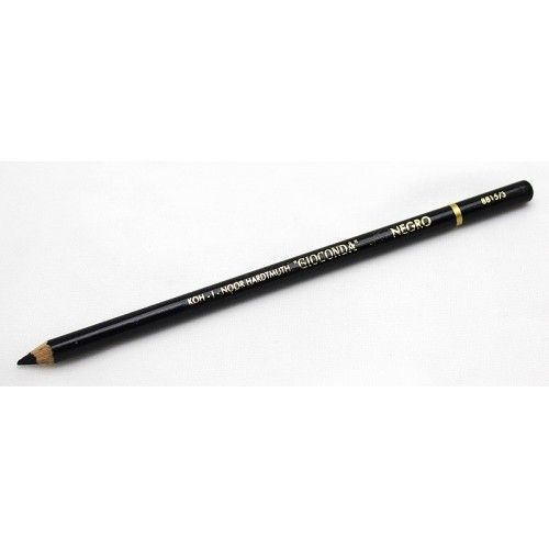 086353 Карандаш GIOCONDA negro художественный черный (карбоновый грифель)