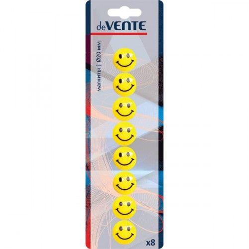 "075777 Магнит для доски ""Smile"" 8шт 20мм"