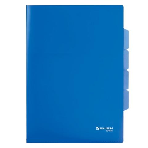 012585 Папка-уголок 3 отд.,цвет ассорти