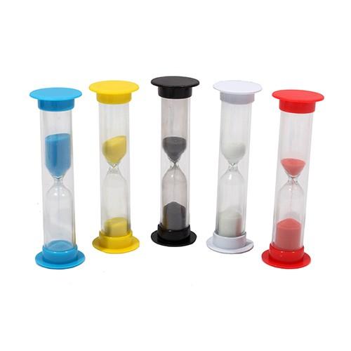 079681 Песочные часы, 1мин, ассорти песок цвет под цвет корпуса