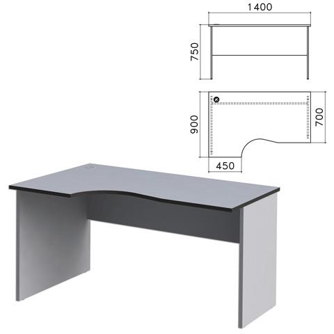 069103 Стол письменный эргономичный