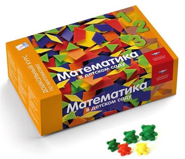 Математика в детском саду от 4 до 7 лет. (ФГОС) (-)(коробка)