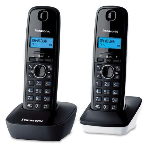 063893 Радиотелефон PANASONIC KX-TG1612RU1 + доп.трубка