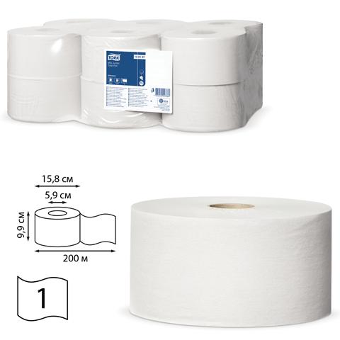 030251 Бумага туалетная 200м, TORK 12шт.
