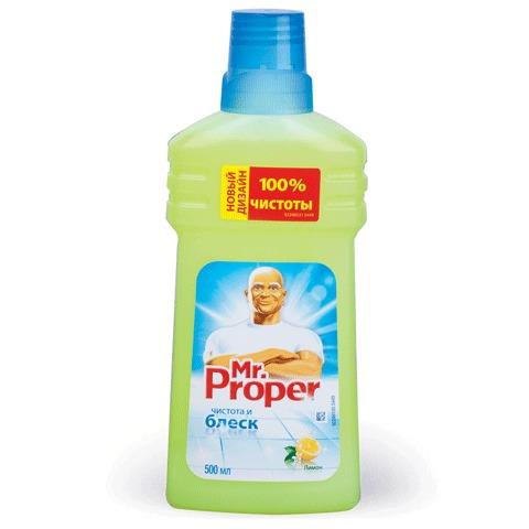 """068210 Средство для мытья пола и стен 500мл MR.PROPER """"Лимон"""""""