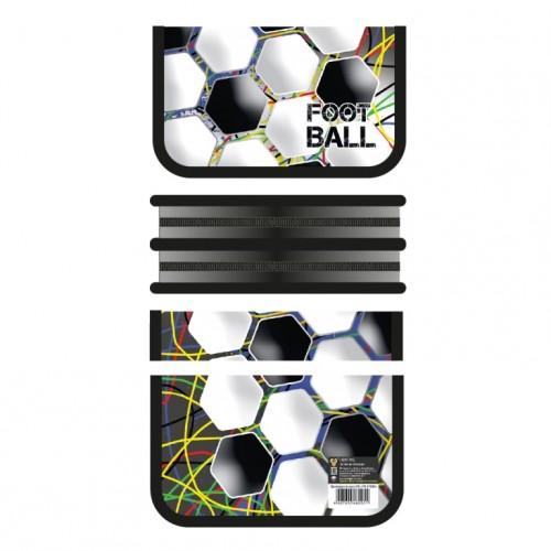 081886 Пенал 2 отделения  (190*105) Футбольный мяч