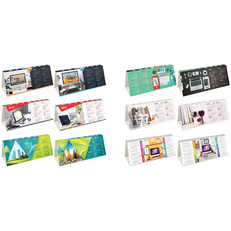 """073778 Календарь-домик с высечкой OfficeSpace """"Офисный мир"""", 2019г."""