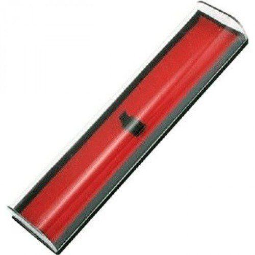 083917 Футляр подарочный для ручек, пластиковый, с прозрачной крышкой