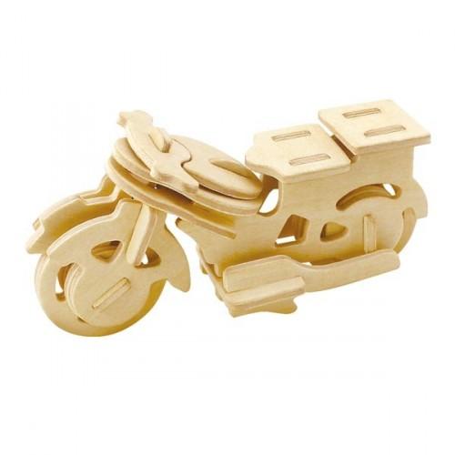 """073661 Изготовление модели из дерева """"Мотоцикл"""" 25 дет 6+"""