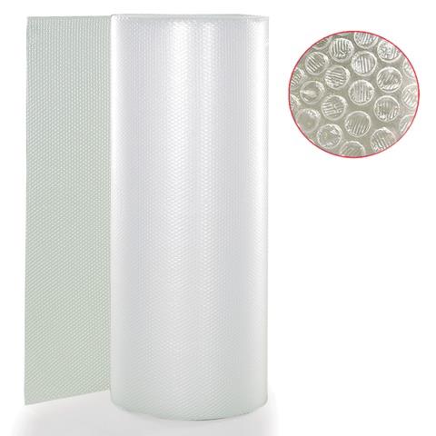 056550 Пленка воздушно-пузырчатая 2-слойная, ширина 1,2 м, длина 100 м, плотность 75 г/м2
