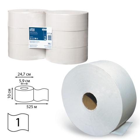 053723 Бумага туалетная 525м, TORK (Система Т1), 1 шт
