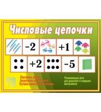 Игры в папке.Числовые цепочки